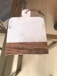Marble and wood cheese board by west elm Washington, 20003