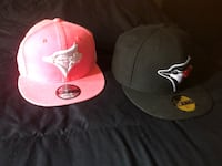 His & hers blue jays women's is snap back men's is size 7 3/4 . Men's gently worn, women's is brandnew Burnaby, V3N 4S6