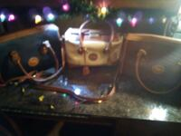 Three vintage Dooney & Bourke leather handbags.  Knoxville, 37915