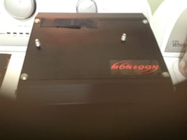 Monsoon car stereo amplifier, excellent condition.