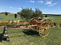 2 wheel single horse carriage