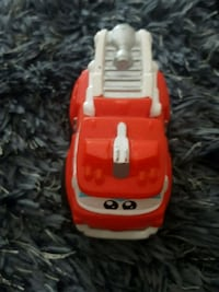 red and white plastic toy car Pickering, L0H