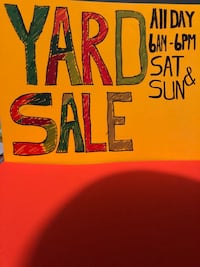 Yard Sale Arvada, 80002