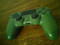 green and black Sony PS4 controller Clovis, 88101