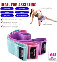 Resistance Band Set of 3 , NEW