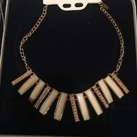 White and Gold necklace Woodbridge, 22191
