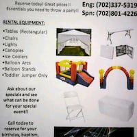 Bounce house and inflatables rental Las Vegas