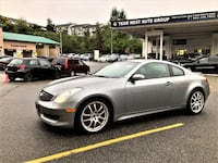 Team West Auto Group 2007 Infiniti G35 Coupe Local Clean g35 350z Vancouver