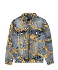 Chain Denim Jacket (XXXL) Montréal, H3C 2G1