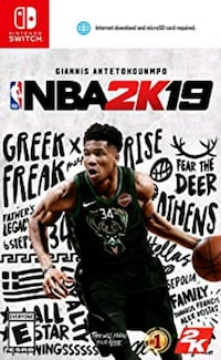 NBA 2K19 Switch - For SALE / TRADE - $50 Brampton, L7A 0A8