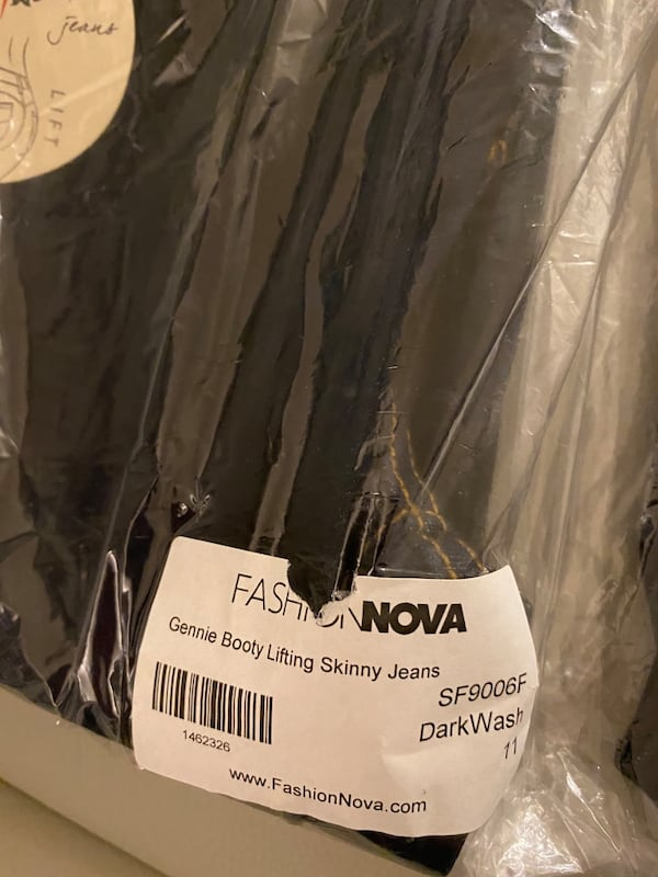 Fashion nova booty lifting jeans size 11 4