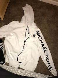 White and black adidas pullover hoodie Middletown, 21769