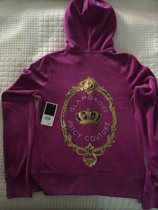 Used purple and brown Glamorous Juicy Couture hoodie for sale in Kingston -  letgo c6d48089d78d