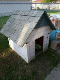 gray and white pet house Edmonton, T5A 0S4