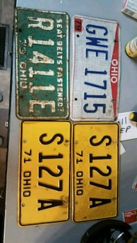 License plates Newcomerstown, 43832