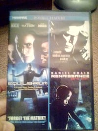 2 movies on one disc DVD Henderson, 42420