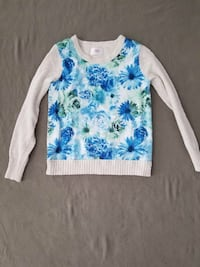 Justice flower sweater size 16 Harborcreek, 16421