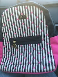 Pink & Black Betsey Johnson backpack  Bowie, 20715
