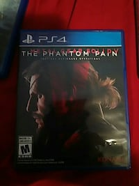 Sony PS4 The Phantom Pain game case Tallahassee, 32304