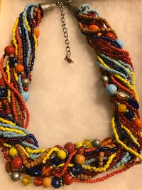 NECKLACE FOR WOMEN ROPE MULTICOLORED NECKLACE Norfolk, 23502
