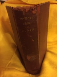 How To Talk by John Mantle Clapp & Edwin A Kane HC 1928 Castle Hayne