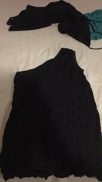 Black and white scoop-neck sleeveless top Winnipeg, R2K