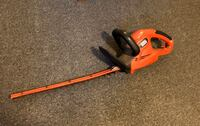 Black & Decker 20 Inch 120 Volt Electric Hedge Trimmer  Asheville, 28806