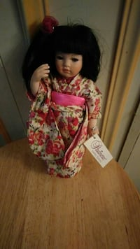 Limited Edition Paulinettes chinese doll 82 km