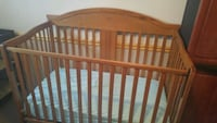 3 in 1 baby crib with mattress