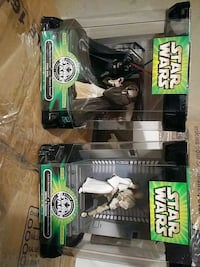 STAR WARS FIGURES-VADER,OBI,LUKE,LEIA BY HASBRO Pickering, L1V 3V7