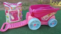 MEGA BLOKS AND WAGON IN PINK PERFECT FOR LITTLE BU Henderson, 89074