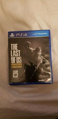Last of us remastered ps4 Burnaby, V5E 2M8
