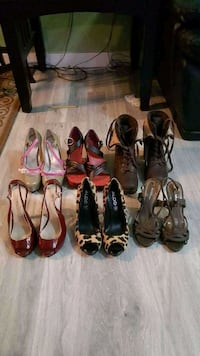 women's assorted pairs of shoes Surrey, V3X 1P3