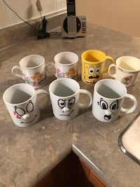 Assorted Mugs Brampton, L7A 3K2