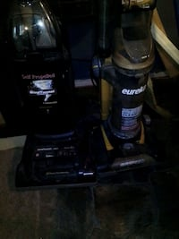 Vacuum cleaner eureka yellow 7$and Hoover self propelled 10$