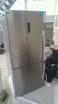 New stainless fridge Vancouver