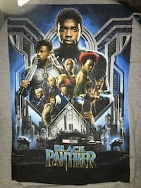 T-Shirt Black Panther Los Angeles