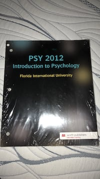 FIU PSY 2012 INTRO TO PSYCH Homestead, 33033