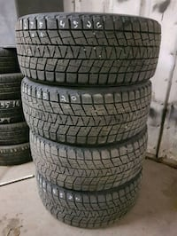 275/45R20 Bridgestone Blizzak set of four
