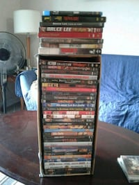 38 dvds 1 blue ray Welland