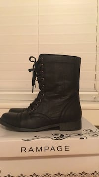 Rampage boots in black