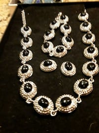 silver-colored necklace with pendant Tracy, 95376