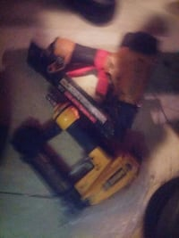 two red and yellow air framing nailers Victoria, V8W 1N3