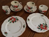 Vintage Queen Anne Bone China (8 Pieces) Manassas