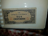 The Japanese real  Paper  Money  Millbrae, 94030