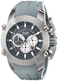 NEW Elini Barokas Men's ELINI-12991-GM-014 Chrono Watch Toronto