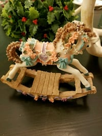 Small Rocking Horse figurine