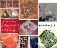Christmas Stuff (Take all for $15) Mississauga