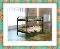 Twin bunkbed frame free mattress and delivery Ashburn, 20147