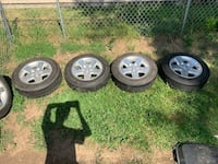 Jeep rims and Tires Omaha, 68124